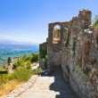 Ruins of old town in Mystras, Greece — Stock Photo #4285057