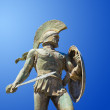 Statue of king Leonidas in Sparta, Greece — Stock Photo #4285102