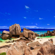 Tropical beach at Seychelles — Stock Photo #4285288