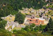 Las ruinas de la vieja ciudad de mistra, grecia — Foto de Stock
