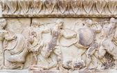 Ornamento en el Museo de Delfos, Grecia — Foto de Stock