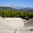 Stock Photo: Ruins of Epidaurus amphitheater