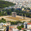 Temple of the Olympian Zeus at Athens, Greece — Stock Photo