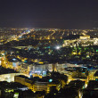 Acropolis and Athens in Greece at night — Stock Photo #4306225