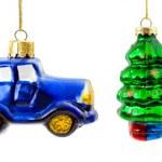 クリスマスのおもちゃのセット — ストック写真