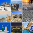Collage of Greece travel images — Stock Photo #4307709