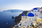 Santorini church (Oia), Greece — Stock Photo