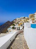 Вид на Санторини - Греция — Стоковое фото