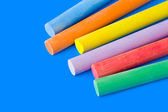 Pieces of chalk — Stock Photo