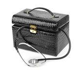První pomoc pytel a stetoskopem — Stock fotografie