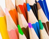 Çok renkli kalemler — Stok fotoğraf
