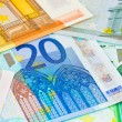 Euro money background — Stock Photo #4493853