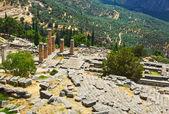руины древнего города дельфы, греция — Стоковое фото
