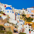 Santorini view (Oia), Greece - Stock Photo