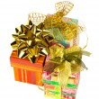 Stock Photo: Three gifts