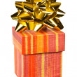 Royalty-Free Stock Photo: Gift and bow