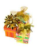 üç hediyeler — Stok fotoğraf