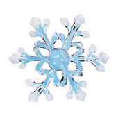 Toy snowflake — Stock Photo