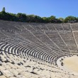 Ruins of Epidaurus amphitheater, Greece — Stock Photo