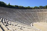 Ruins of Epidaurus amphitheater, Greece — Stock Photo