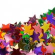 Mulicolored stars pattern — Stock Photo