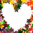 Heart made of stars — Stock Photo #4954841