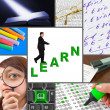 Stock Photo: Collage of education images