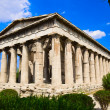 Ancient Agora at Athens, Greece - Stock Photo