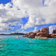 Tropical island at Seychelles — Stock Photo #5060358