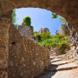 Ruins of old town in Mystras, Greece — Stock Photo #5102587