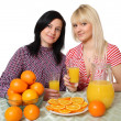 Stock Photo: Orange juice
