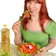 Dietary salad — Stock Photo