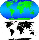 Forma do mundo. — Vetorial Stock