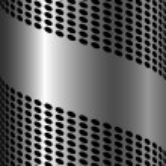 Abstract metallic background — Stock Vector