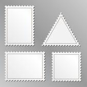 Boş posta pulları — Stok Vektör