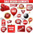 Sale design elements — Image vectorielle