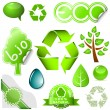 Environmental icons — Image vectorielle