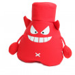 Red evil toy devil — Stock Photo