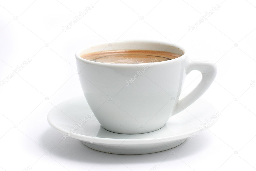 Coffee cup isolated on white background — Stock Photo #2869813
