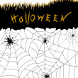 Halloween spiders - Stock fotografie