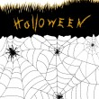 Halloween spiders - Stockfoto