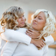Loving sisters — Stock Photo