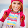 Cute winter girl — Stock Photo #2757204