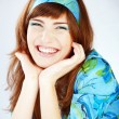 Laughing girl — Stock Photo