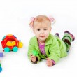 Baby with toys — Stock Photo #2757942