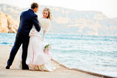 Wedding romance — Foto Stock
