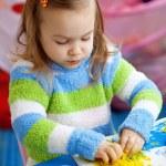 Little girl learning — Stock Photo #2762135