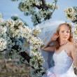 Stock Photo: Spring bride portrait