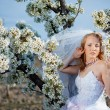 Spring bride portrait — Stock Photo