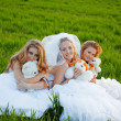 Stock Photo: Young brides